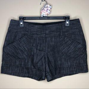 Maurice's Shorts Black | 7/8
